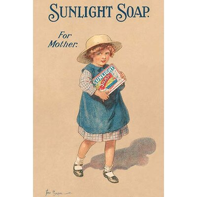 'Sunlight Soap for Mother' Vintage Advertisement 0-587-26931-6C2030
