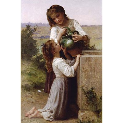 Image of 'At the Fountain' by William-Adolphe Bouguereau Photographic Print