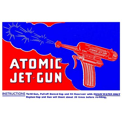 'Atomic Jet-Gun' Vintage Advertisement 0-587-25063-1