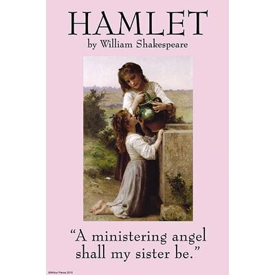 'Hamlet' by William Shakespeare Graphic Art 0-587-27174-4