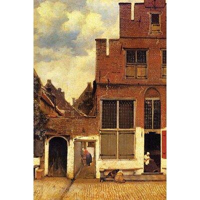 'The Little Street' by Johannes Vermeer Painting Print