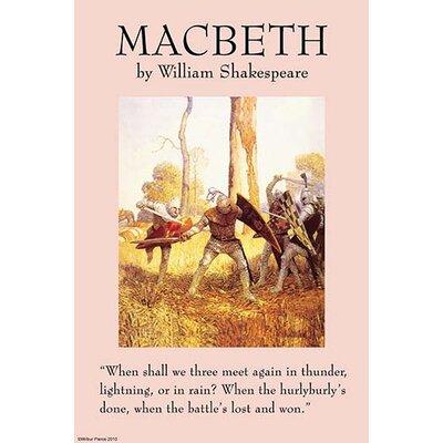 'Macbeth' by William Shakespeare Vintage Advertisement 0-587-27202-3