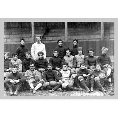University of Pennsylvania Football Team, Philadelphia by Free Library of Philadelphia Photographic Print 0-587-08239-9C2436
