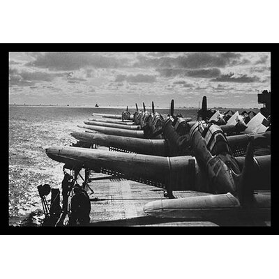 'U.S. Navy Airplanes Packed on Deck' by U.S. Navy Photographic Print 0-587-19634-3C2030