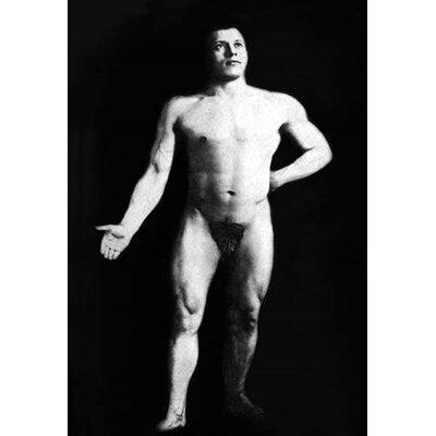 'Nude Bodybuilder' Photographic Print 0-587-03998-1
