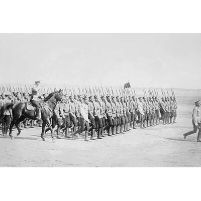 'Tsarist Infantry Passes in Review' Photographic Print Size: 28
