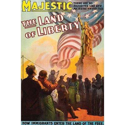 'Land of Liberty' Vintage Advertisement 0-587-62476-L
