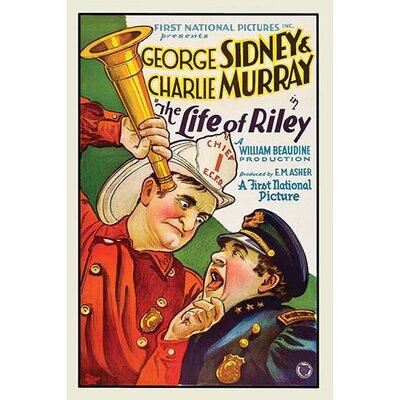 'The Life of Riley' by First National Vintage Advertisement 0-587-62027-L