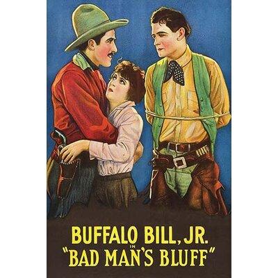 'Bad Man's Bluff' Vintage Advertisement 0-587-62780-L