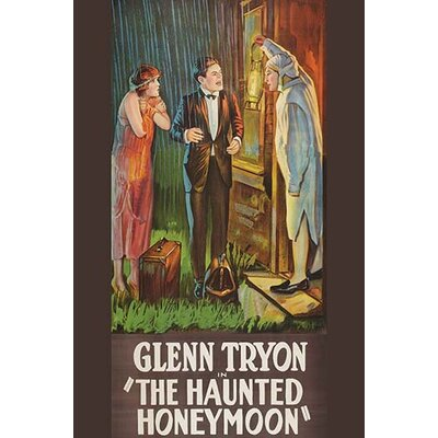 'Haunted Honeymoon' Vintage Advertisement 0-587-62436-LC2436