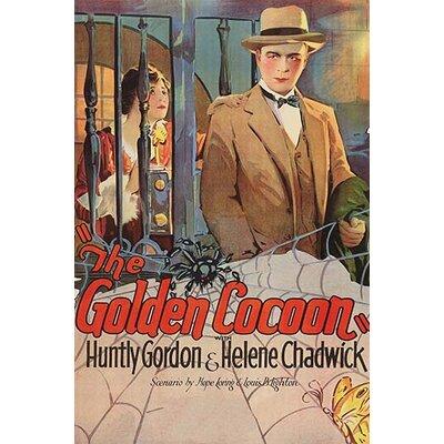'Golden Cocoon' Vintage Advertisement 0-587-62384-L