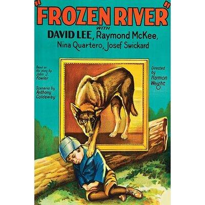 'Frozen River' Vintage Advertisement 0-587-62371-L