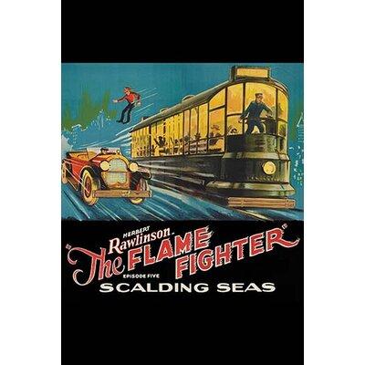 'Flame Fighter Scalding Seas' Vintage Advertisement