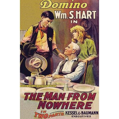 'The Man From Nowhere' Vintage Advertisement 0-587-62856-L