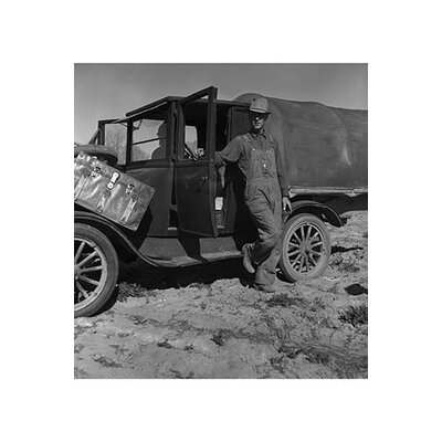 'Tenant Farmer Moves to California' by Dorothea Lange Photographic Print Size: 30