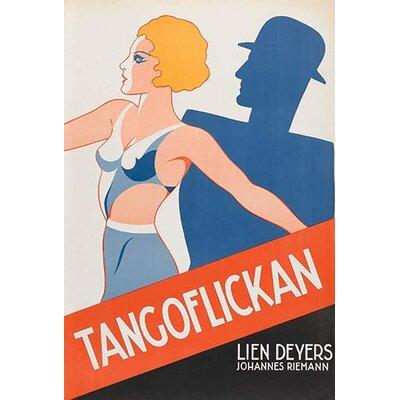 "'Tango Movies ""Tangoflickan""' Vintage Advertisement 0-587-62999-L"