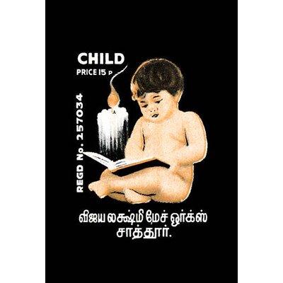 'Child' Vintage Advertisement