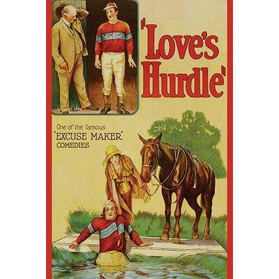 'Love's Hurdle' Vintage Advertisement 0-587-62467-LC4466