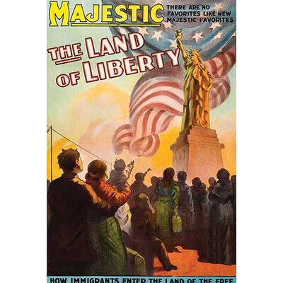 'Land of Liberty' Vintage Advertisement 0-587-62476-LC4466