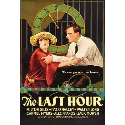 'Last Hour' Vintage Advertisement 0-587-62474-LC4466