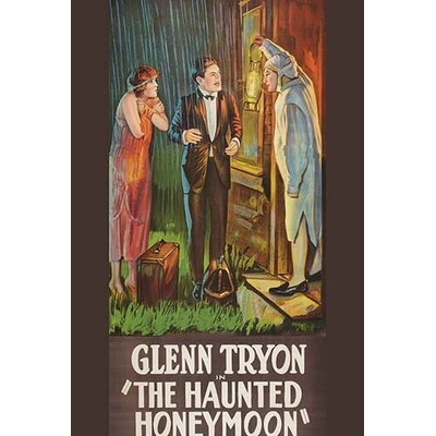 'Haunted Honeymoon' Vintage Advertisement 0-587-62436-LC4466