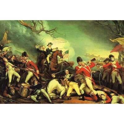 'Death of General Mercer' by John Trumbull Painting Print 0-587-61758-LC4466