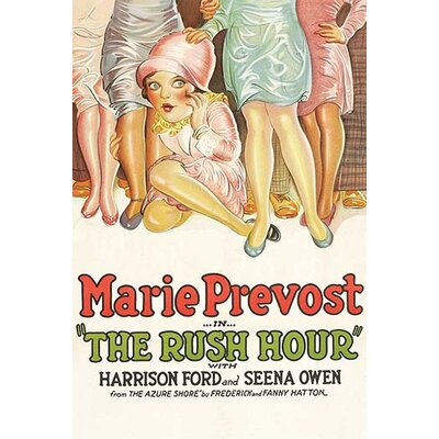 'The Rush Hour' Vintage Advertisement 0-587-62675-LC4466