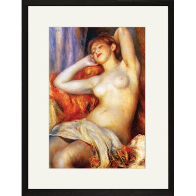 The Sleeping by Pierre - August Renoir Framed Painting Print 25520-x1218BF