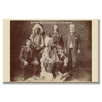 Buffalo Bill, Sitting Bull, and Others Photographic Print on Wrapped Canvas 0-587-12452-0C2030