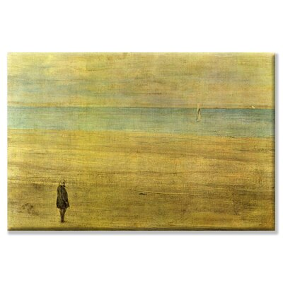 Harmony Trouville by James Abbott McNeill Whistler Painting Print on Wrapped Canvas Size: 20