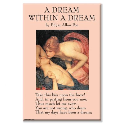 A Dream Within a Dream by Edgar Allan Poe Vintage Advertisement on Wrapped Canvas 0-587-27187-6C2030