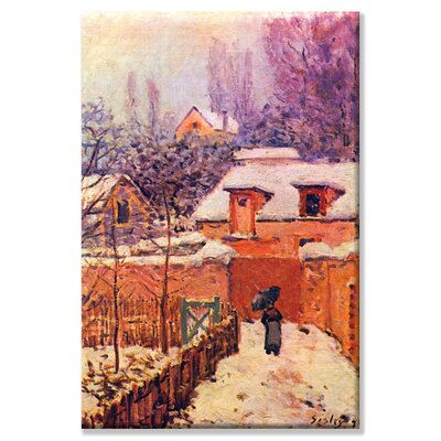 "Buyenlarge Garden in the Snow Art on Canvas Wall Art - Size: 20"" H x 30"" W x 0.5"" D at Sears.com"