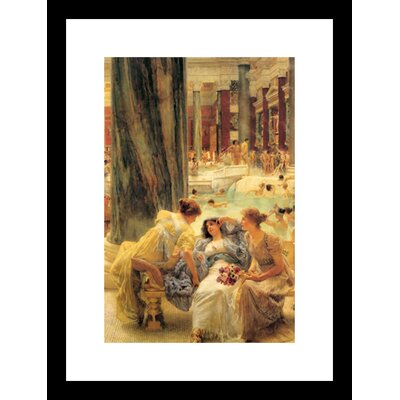 Baths of Caracalla by Lawrence Alma-Tadema Framed Painting Print