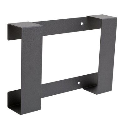 Wii U Wall Mount Bracket Finish: Black