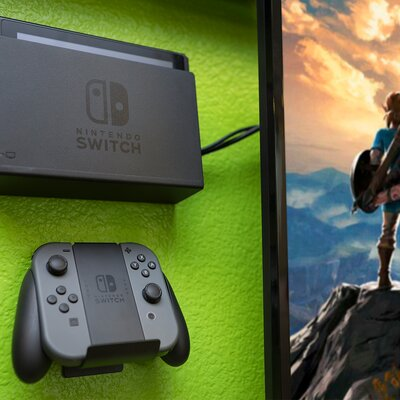 HIDEit Switch and Wall Mount Nintendo Switch Dock