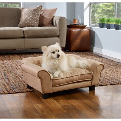 Sydney Sofa Dog Bed Color: Beige