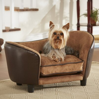 Ultra Plush Snuggle Pet Bed Color: Brown