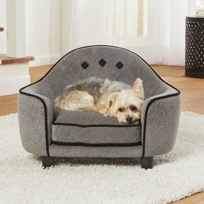 Loughlin Ultra Plush Headboard Dog Sofa