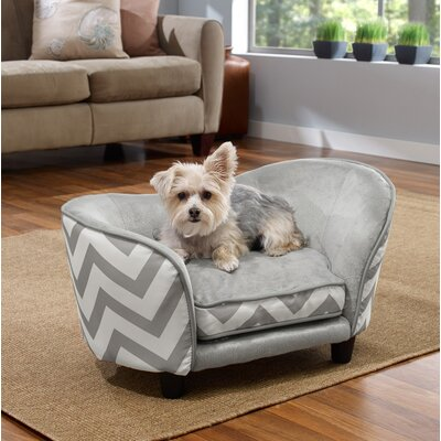 Snuggle Pet Bed Color: Gray