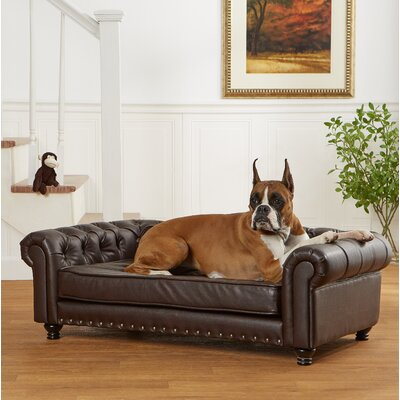 Lora Dog Sofa with Solid Foam Cushion
