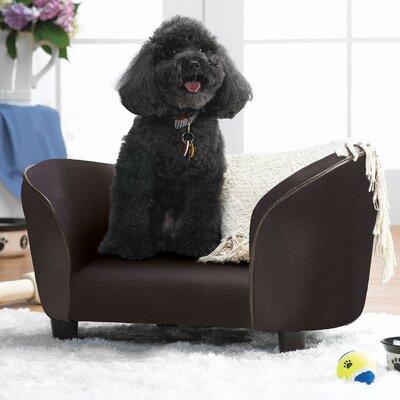 Snuggle Dog Sofa Color: Pebble