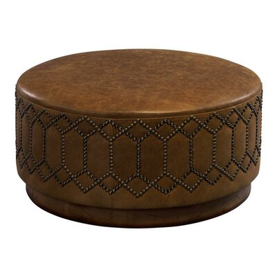 Youngston Leather Ottoman