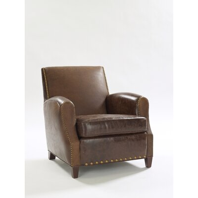 Parisian Leather Club Chair