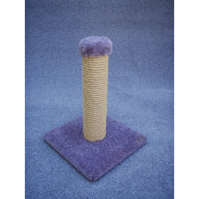 18 Sisal Cat Scratching Post Color: Blue