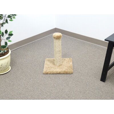 18 Sisal Cat Scratching Post Color: Brown