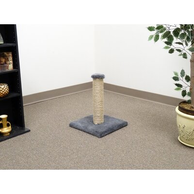 18 Sisal Cat Scratching Post Color: Gray