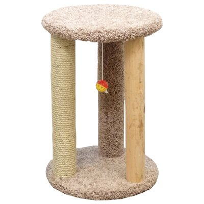 Delphine Cat Scratcher Color: Beige