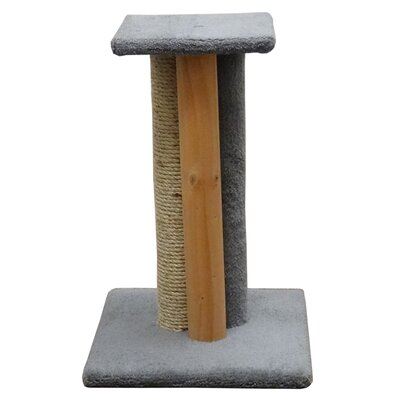 24 Premier Triple Cat Scratching Post Color: Gray