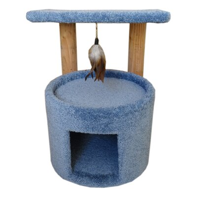 24 Premier Cat Perch Color: Blue
