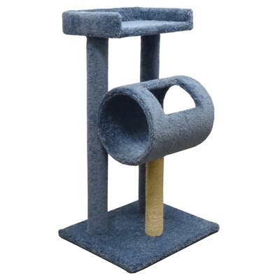 42 Premier Climber Cat Tree Color: Blue